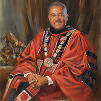Washington State University President Elson Floyd